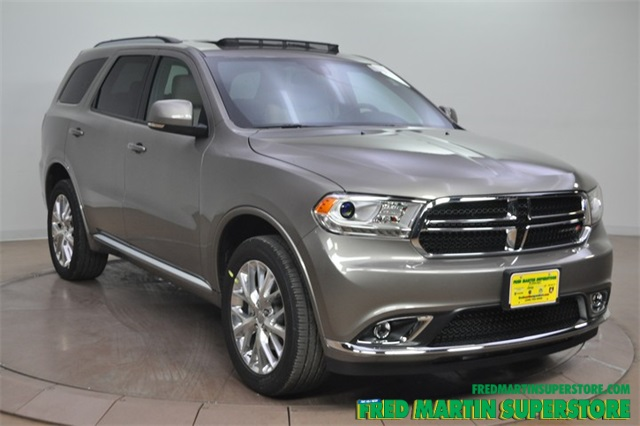 new 2016 dodge durango limited 4d sport utility in barberton 1t162756 fred martin superstore. Black Bedroom Furniture Sets. Home Design Ideas